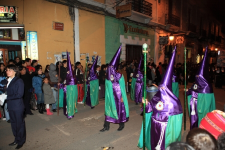 Easter Procession in Potosi Bolivia
