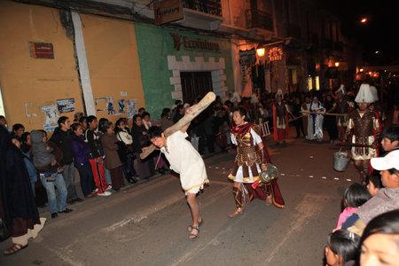 procession: Procesi?n de Pascua en Potos? Bolivia Editorial
