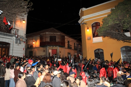 procession: Procesi�n de Pascua en Potos� Bolivia