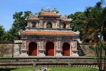 hue: Hue in Vietnam Stock Photo
