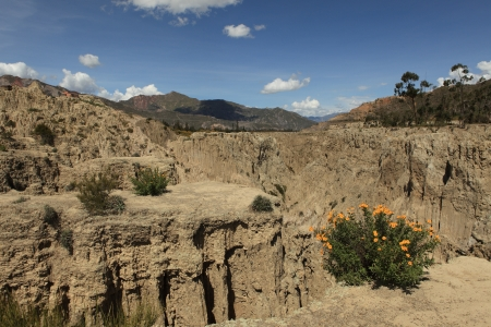 Moon Valley La Paz Bolivia photo