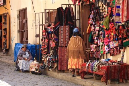 Wichtes Market La Paz Bolivia