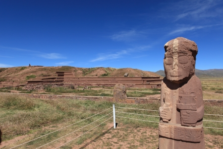 The Monuments from Tiwanaku