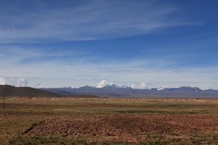 cordillera: The Altiplano with the Andes
