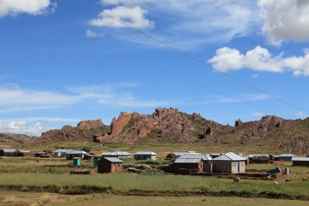 altiplano: The Altiplano in Peru