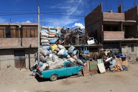 scrap trade: Riciclaggio