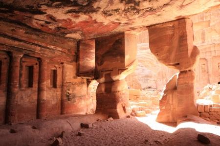 The Historic City Petra in Jordan photo