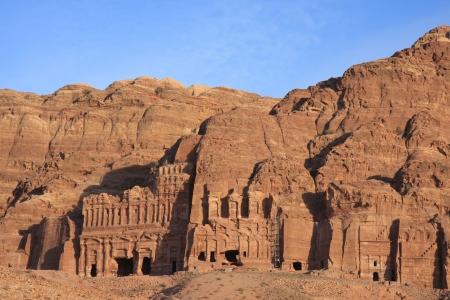 The City Petra in Jordan photo