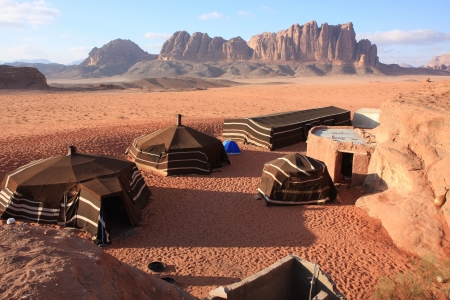 The Desert Wadi Rum in Jordan photo