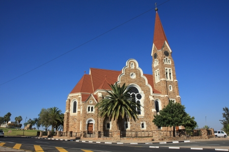 The Christ Church of Windhoek Stock Photo