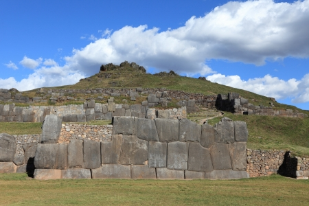 Sacsayhuaman Inca Fortress at Cuzco