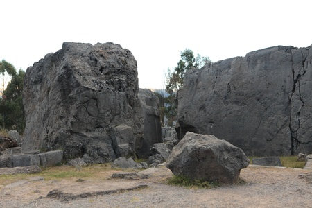 sacred valley of the incas: Sacsayhuaman Inca Fortress at Cuzco