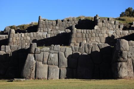 sacred valley: Sacsayhuaman Inca Fortress at Cuzco
