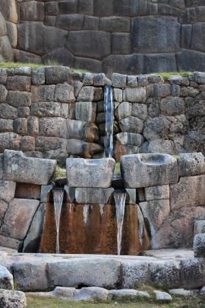 Tambomachay the Bath of the Incas Stock Photo