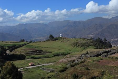 cuzco: Landscape Cuzco Stock Photo