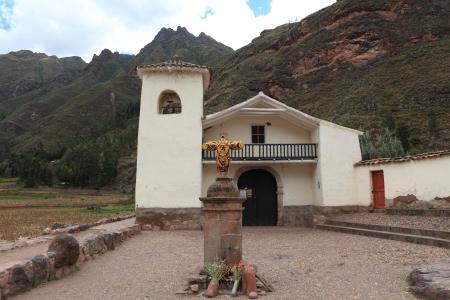 indios: Church in Peru Stock Photo