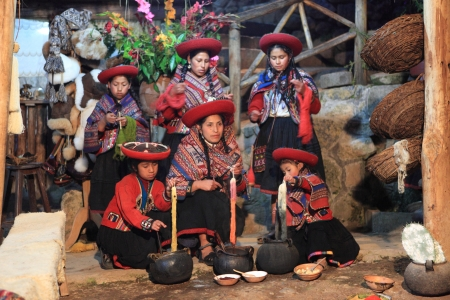 indios: Historic Peruvian Women in Peru Editorial