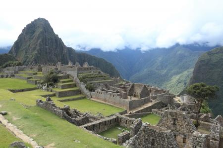 Machu Picchu the hidden Inca City in the clouds