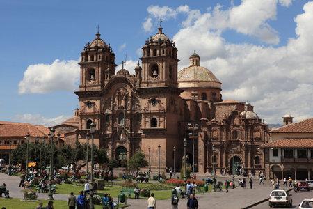 cuzco: The City Cuzco in Peru