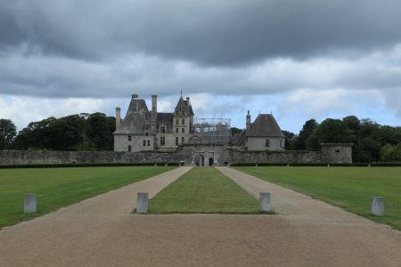 castle conditioning: Castle in Brittany