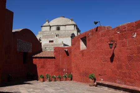 catalina: Monastero di Santa Catalina in Arequipa Archivio Fotografico