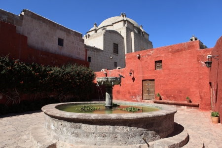 catalina: Monastery Santa Catalina in Arequipa
