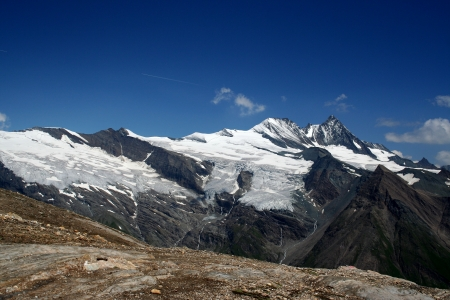 grossglockner: The Austrian Alps with the Grossglockner