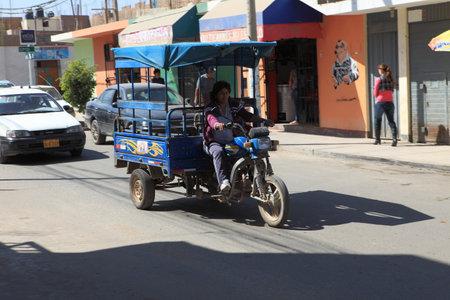 tuk: Tuk Tuk Traffic Nazca