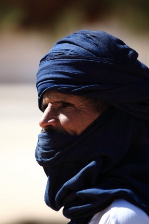 Tuareg in the Sahara