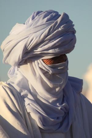 Tuareg in the Sahara