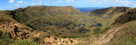 Easter Island Crater Rano Kau