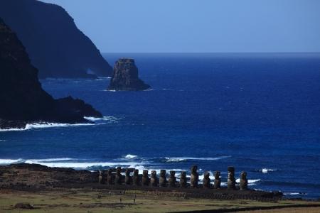 rapa nui: Isla de Pascua Moai Statue