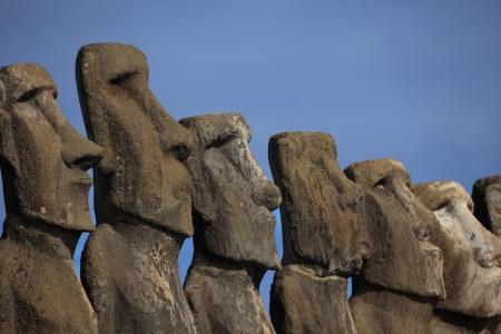 Easter Island Moai Statue photo