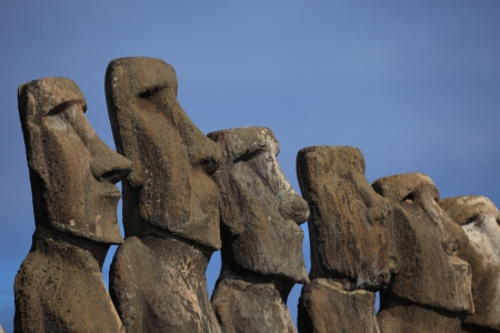 Easter Island Moai Statue photo