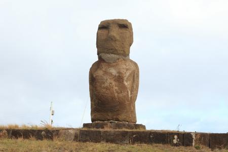 easter island: Easter Island Moai Statue