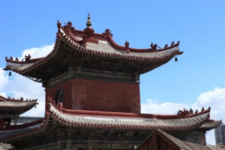 the lama: Ulaanbaatar Choijin Lama Monastery