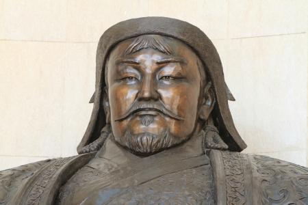 khan: Genghis Khan Monument Ulaanbaatar Stock Photo