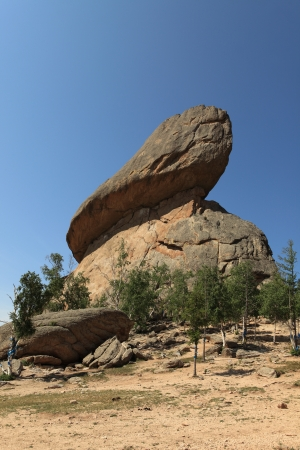 �rock formation�: Rock Formation the Turtle Mongolia