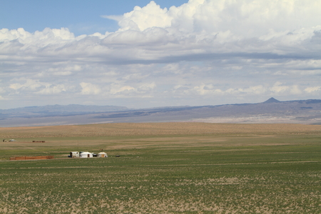 gobi desert: The Desert Gobi in Mongolia Stock Photo