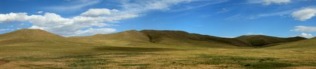 Mongolian Landscape of Orkhon Valley