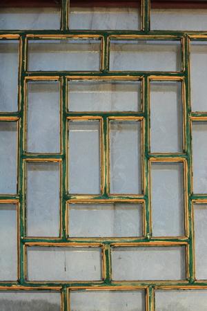 grates: Window pattern Stock Photo