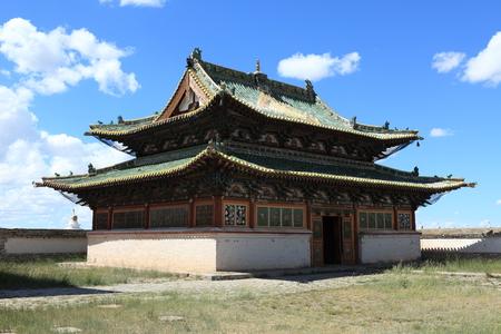 Monastery of Erdene Zuu Kharkhorin Mongolia