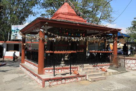 pokhara: Shrine in Pokhara Nepal Editorial