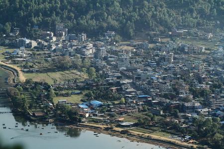 pokhara: Pokhara Nepal Stock Photo