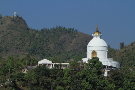 World Peace Pagoda Pokhara Nepal