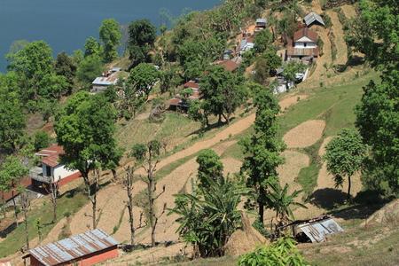pokhara: Pokhara in Nepal