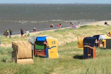 silla playa: silla de playa Editorial