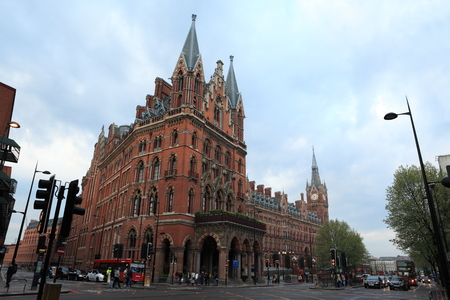 pancras: St  Pancras London Editorial
