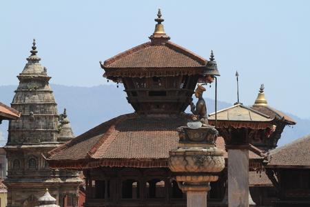 Temple City Bhaktapur of Nepal Stock Photo
