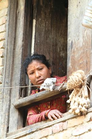 Woman from Nepal photo
